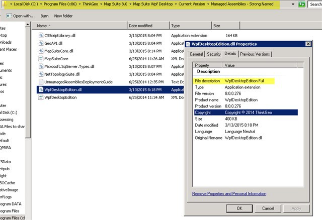Evaluation Edition Exception - WPF - ThinkGeo Discussion Forums