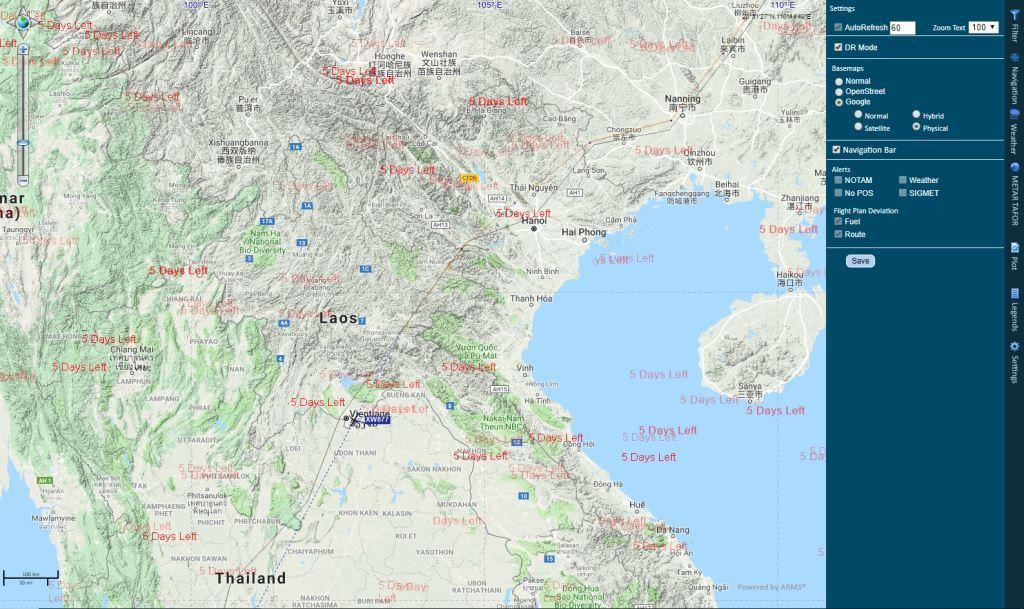 Plotting issue when Basemap changes - WebForms - ThinkGeo